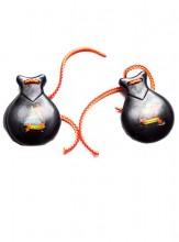 Spanische Kastagnetten schwarz, kleines Modell