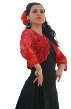 Spanische Torera Damen, rot, schwarz oder weiß
