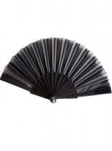 Flamencofächer schwarz
