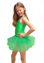 Kinder Ballet Tutu grün