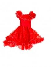 Prinzessin Kleid rot