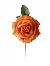 Spanische Flamencorose, orange