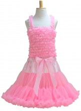 Prinzessinnen kleid Yoana Deluxe leicht Rosa