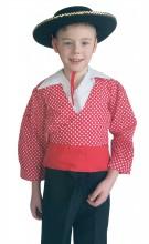 Kostüm Chico Jungen rot weiß