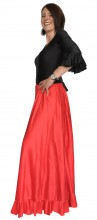 Flamenco rock Damen, rot NEU