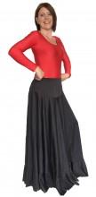 Flamencorock Damen / Erwachsene schwarz