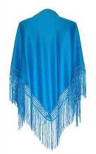 Spanischer Manton/Tuch, blau