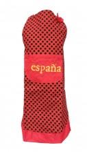 Spanische Schürze España rot schwarz