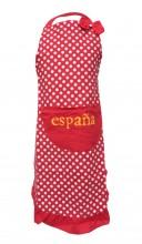 Spanische Schürze España rot weiß