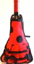 Spanische Flamencoschürze Weinflasche