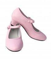 Spanische Schuhe leicht rosa