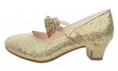 Prinzessinnen Schuhe Anna Frozen Schuhe gold glitzer Deluxe
