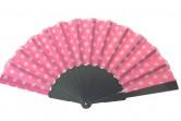 Flamencofächer rosa weiß