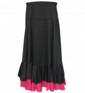 Flamenco Rock Kinder schwarz/rosa