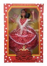 Spanischer Barbie Puppe rot weiß