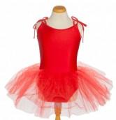 Kinder Ballet Tutu rot