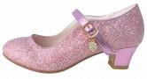 Prinzessinnen Schuhe Elsa Frozen rosa mit kleines Herzchen