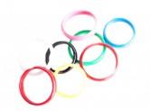 Spanisches Armband, verschiedene Farben, glattes Modell und Perlen