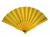 Flamencofächer gelb