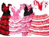 Spanische Flamenco Kleider