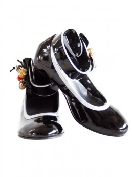 promo code 71909 04e1d SpanischeFlamencoKleider.de | Spanische Schuhe schwarz Lack