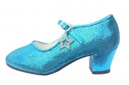 9188fd20ec5824 Elsa Frozen Schuhe   Spanische Schuhe blau Glamour