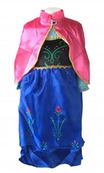 Prinzessinnen kleid Anna Frozen Kostüm