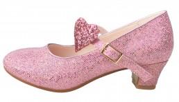 8886fc6de22bde Prinzessinnen Schuhe Elsa Frozen Schuhe rosa glitzer Deluxe