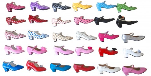 purchase cheap 4bb09 9d0e4 Flamenco Schuhe alle Farben günstig kaufen ...